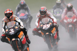 Max Biaggi and Nicky Hayden