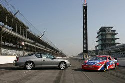 The 2006 Chevrolet Monte Carlo SS race car and Monte Carlo production car