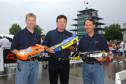 Jeff Burton, Richard Childress and Dave Blaney