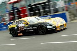 #95 Racesport Peninsula TVR TVR Tuscan T400R: Richard Stanton, Piers Jonhson, Dany Eagling