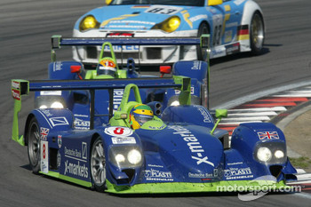 #8 Rollcentre Racing Dallara Judd - LMP 900: Joao Barbosa, Martin Short, Vanina Ickx