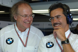 Prof Burkard Goeschl and Dr Mario Theissen