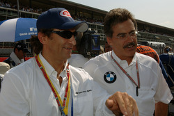 Dr Mario Theissen and Alex Zanardi
