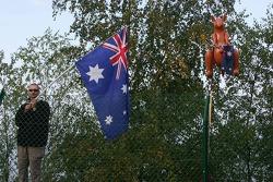 An Australian fan