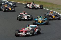 Ralf Schumacher leads the field