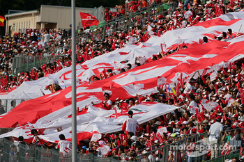 Fans at Suzuka