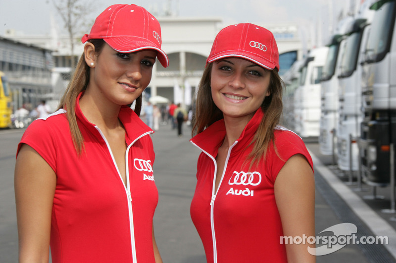 Audi Girls At Istanbul