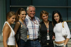Owner of Red Bull Dietrich Mateschitz in charming company