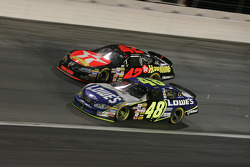 Jimmie Johnson and Jamie McMurray