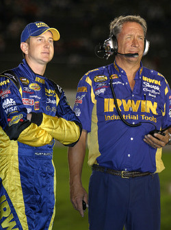Kurt Busch and Jimmy Fennig