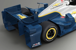 Rendering of the 2015 Chevrolet aero kit