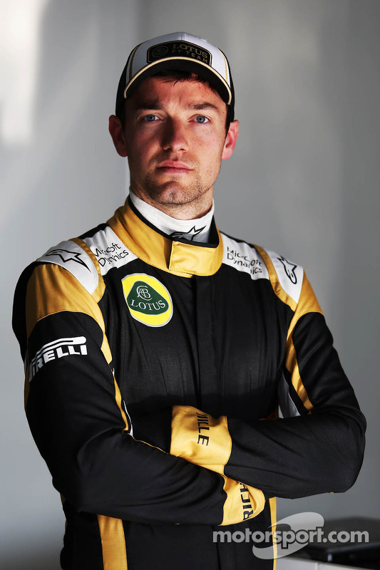 Jolyon Palmer Lotus F1 Team Test And Reserve Driver At