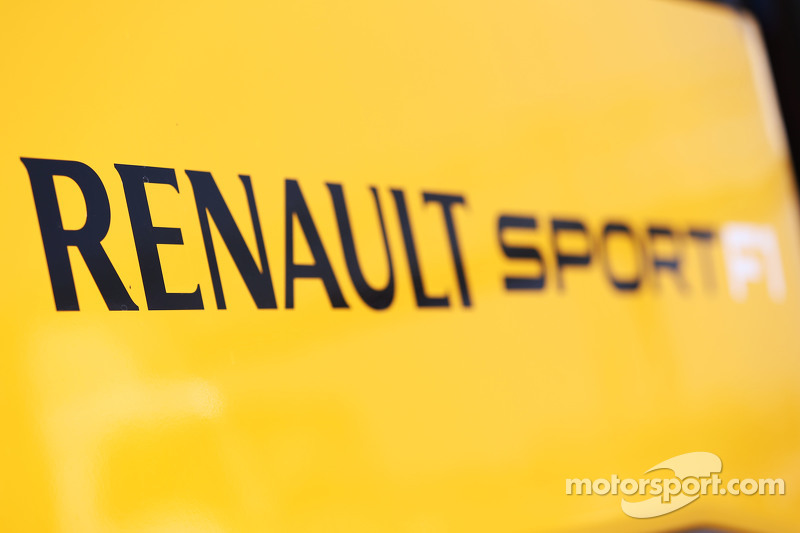 Renault Sport F1 logo at Barcelona February testing ...