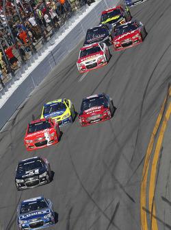 Jimmie Johnson, Hendrick Motorsports Chevrolet leads