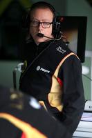 Mark Slade, Lotus F1 Team, Race Engineer
