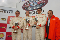 Grid C Historic Challenge, race 1 podium