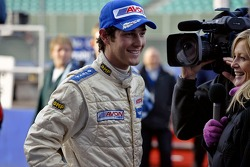 Bruno Senna is interviewed for British TV