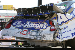 The wrecked car of Carl Long