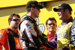 Tony Stewart, Kevin Harvick, Jeff Gordon and Robby Gordon