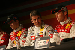 Press conference: Mattias Ekström, Bernd Schneider and Tom Kristensen