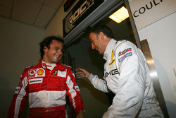 Felipe Massa and Jean Alesi