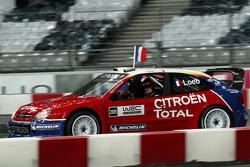 Demonstration of Sébastien Loeb in the Citroën Xsara WRC