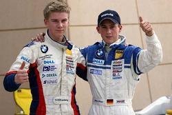 Winner Marco Holzer and Nicolas Huelkenberg