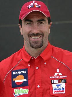 Team Repsol Mitsubishi Ralliart: Luc Alphand