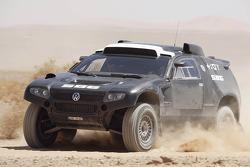 Volkswagen Motorsport: testing of the Volkswagen Race Touareg 2