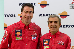 Team Repsol presentation in Lisbon: Luc Alphand and Gilles Picard