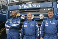 Team de Rooy: Hugo Duisters, Yvo Geusens and Mohamed El Bouzidi