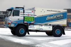 Tomas Tomecek Letka Racing Team: the Livescore Tatra 815 Dakar Terrno