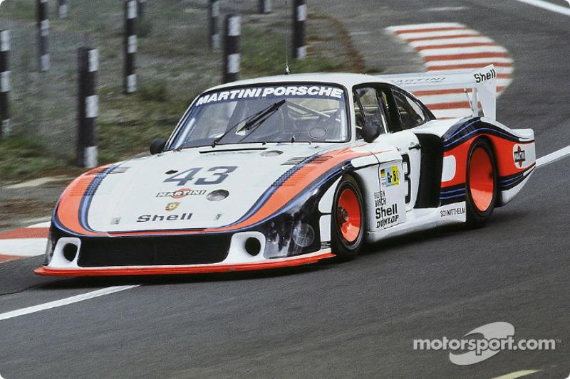 #43 Martini Racing Porsche 935/78: Manfred Schurti, Rolf Stommelen, Reinhold Jöst