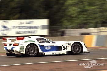 #54 David Price Racing Panoz GTR1: Andy Wallace, James Weaver, Butch Leitzinger