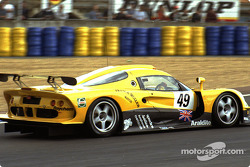 #49 Lotus Racing Lotus Elise GT1: Jan Lammers, Mike Hezemans, Alexander Grau