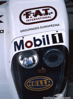 Headlights of the Joest Racing TWR Porsche WSC 95