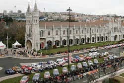 Overall view of the scrutineering in Lisbon