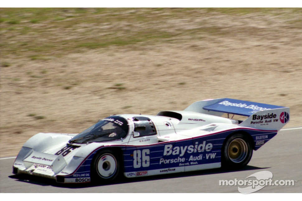 #86 Bayside Porsche 962: Bruce Leven