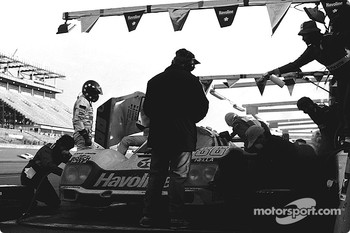 #86 Bayside Porsche 962: Klaus Ludwig, Hans Stuck, Sarel van der Merwe