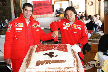 Marc Gene and Felipe Massa