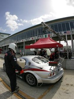 Multimatic Motorsports crew members at work