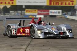 Rinaldo Capello at speed in the Audi R10
