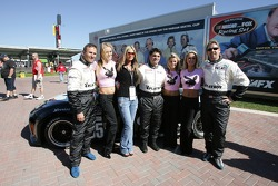 Playboy Racing photoshoot: David Murry, Mike Borkowski and Blake Rosser