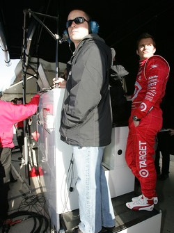 Casey Mears and Dan Wheldon
