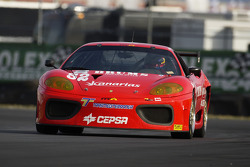 #12 Mastercar Ferrari 360GT: Costantino Bertuzzi, Bo McCormick, Philipp Baron
