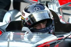 Pitstop practice at McLaren