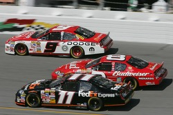 Kasey Kahne, Dale Earnhardt Jr. and Denny Hamlin