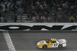 Matt Kenseth takes the checkered flag