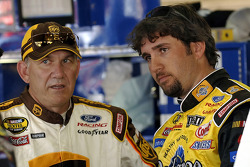Dale Jarrett and Elliott Sadler