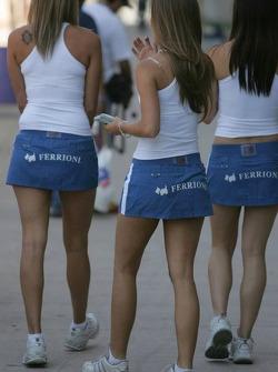 The lovely Ferrioni girls